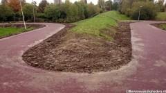 Nieuw geasfalteerd fietspad bij Vosbergenpad