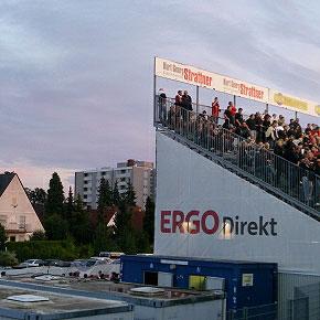 Heimspiel in Fürth - Net Uffresche - Tour 2011