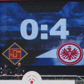 4:0 in Koblenz, das war's