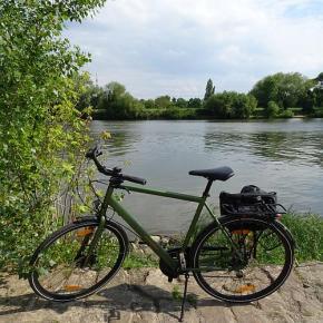 Mit dem Rad durch Frankfurt