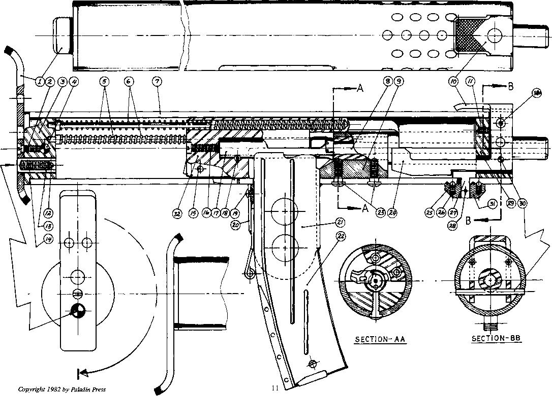 Sine Bar Rifling Machine For Sale