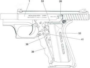 Functioning  HK P7 M13 Pistol  Bev Fitchett's Guns Magazine