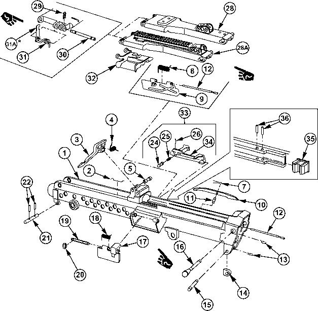 Thompson Parts Diagram