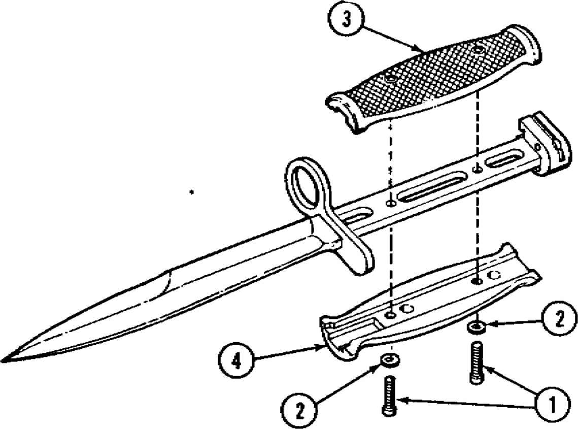 M2 Carbine Parts Diagram