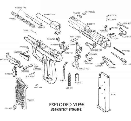 ruger 10 22 exploded diagram