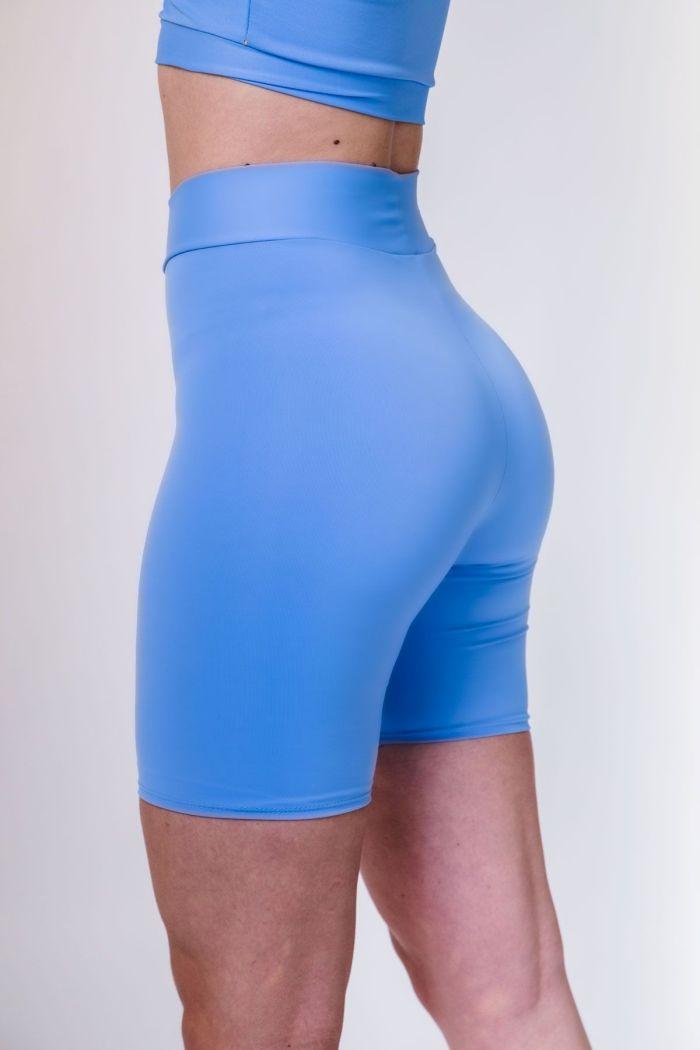 leggings ciclista cortos tiro alto