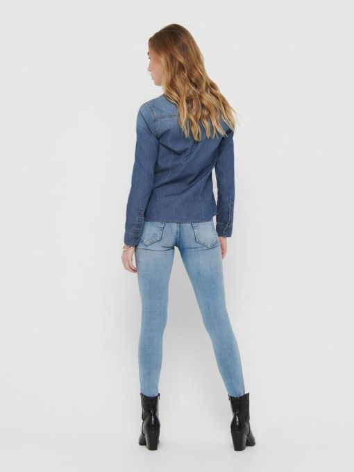 Chemise en jean foncée Rockit