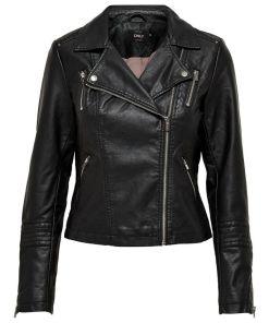 Veste perfecto noir simili marque Only.