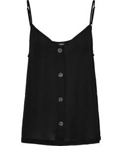 Caraco fines bretelles réglables couleur noir. Marque Only.