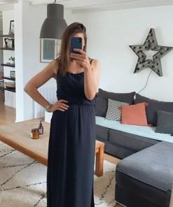 Robe longue noire Nova ONLY