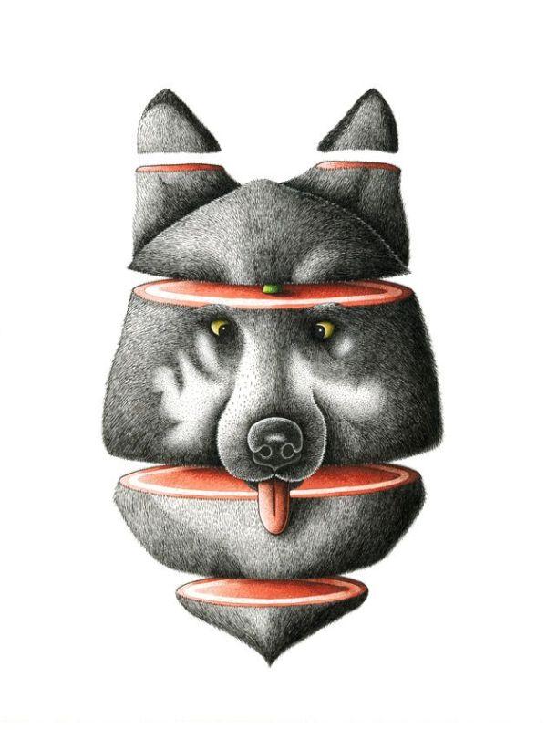 nicolas-barrome-roti-loup-30-40cm-print