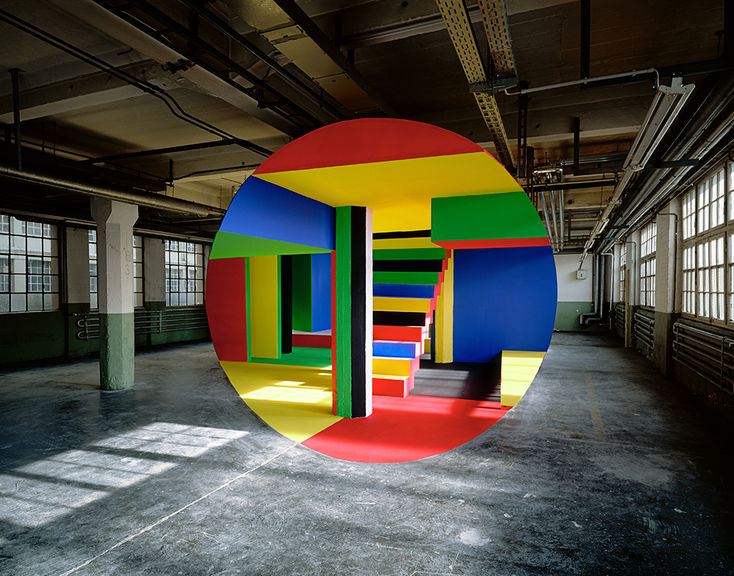 Georges Rousse street art