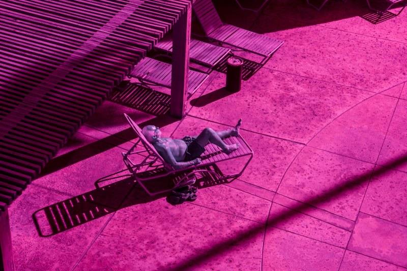 infra rouge bain de soleil