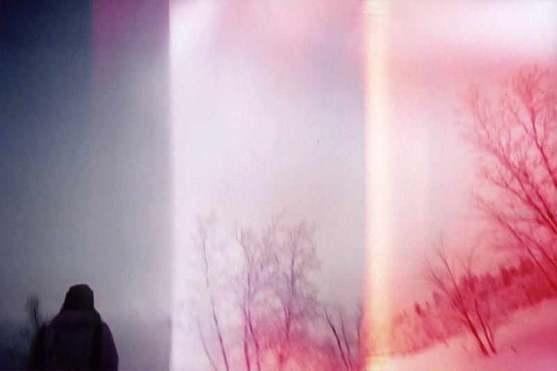 "Maya Beano en Suède Arctique pour shooter la série ""Hypnosis"""