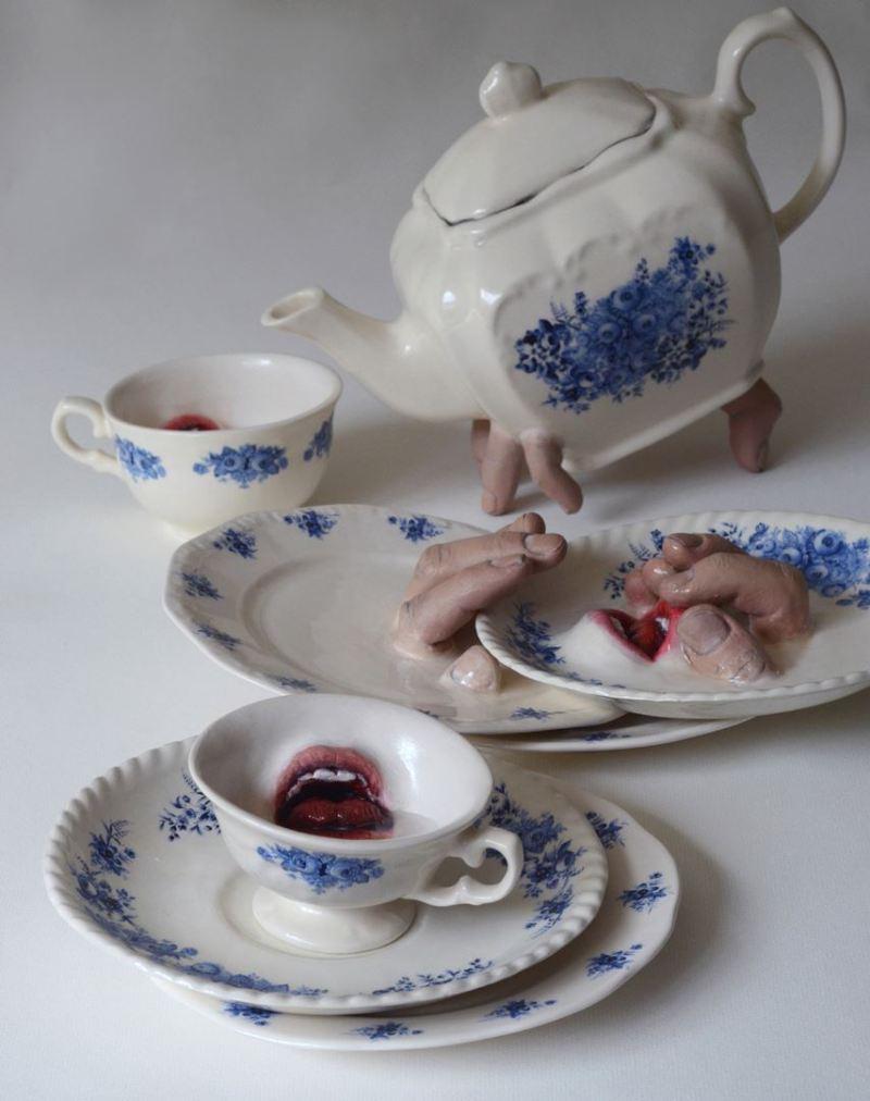 Breakfast, le service à thé qui se sert lui-même