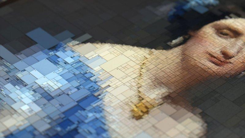 Dimitris Ladopoulos - Portrait digital marquise vue 2