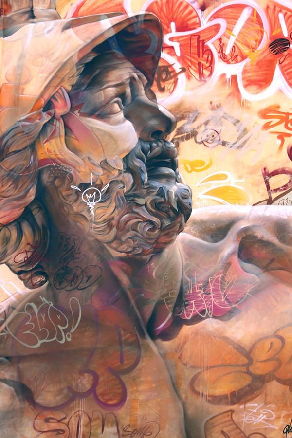 Les fresques murales de Pichi et Avo, entre classicisme et culture moderne