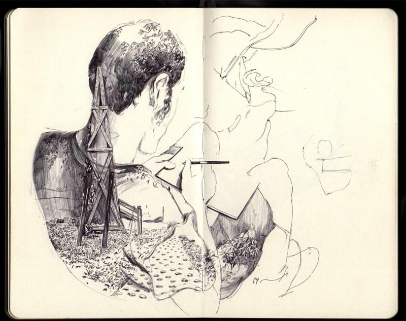 Thomas Cian croquis
