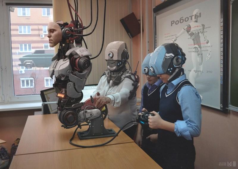 cyborg humanoide