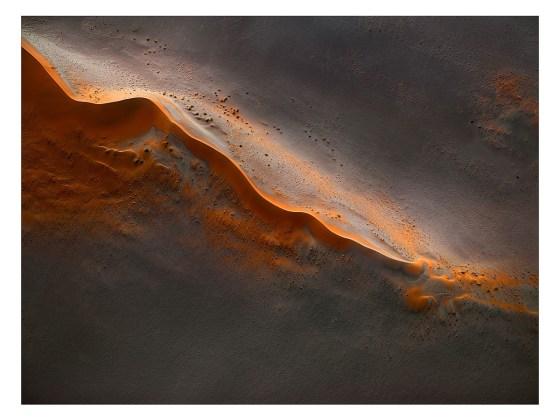 désert namibie vue du ciel Leah Kennedy