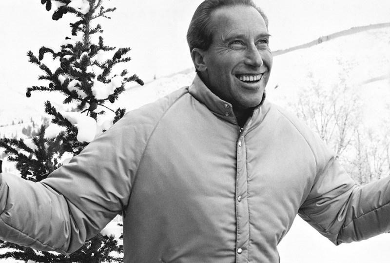 Klaus Obermeyer, l'inventeur de la doudoune, à Aspen en 1948