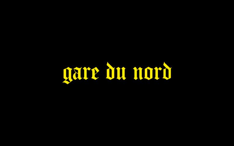 claire laffut Gare du Nord clip