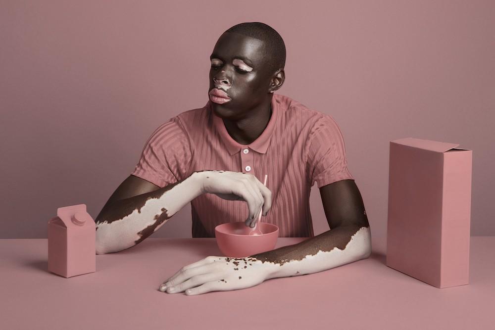 Moostapha Saidi, le modèle du photographe Sud Africain Justin Dingwall