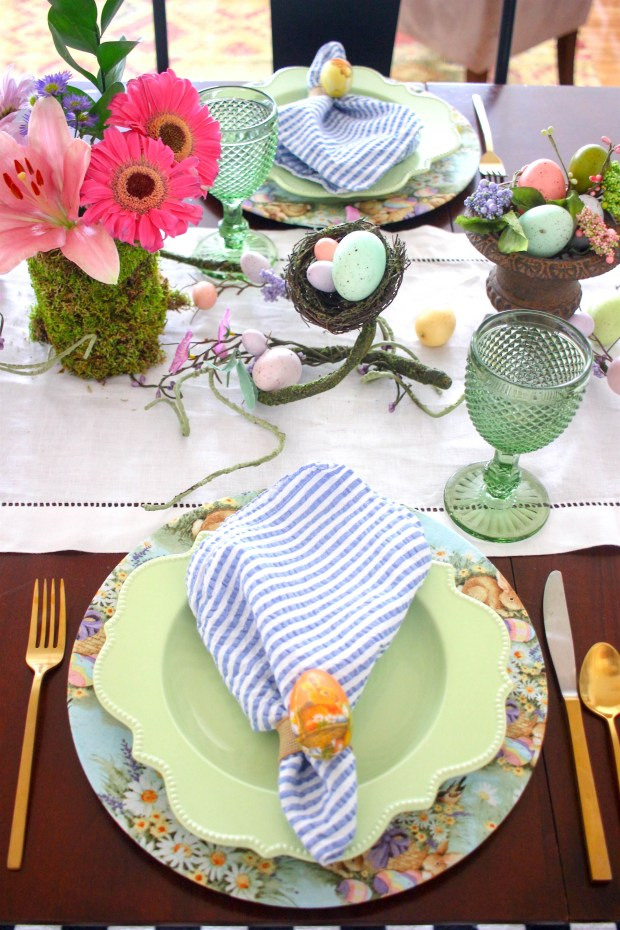 Easter Brunch Table
