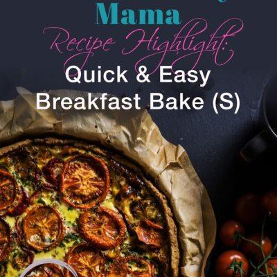 Quick & Easy Egg Breakfast Bake (THM S)