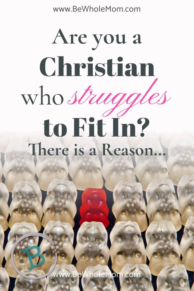 Are you a Christian who Struggles to Fit in? There is a reason...