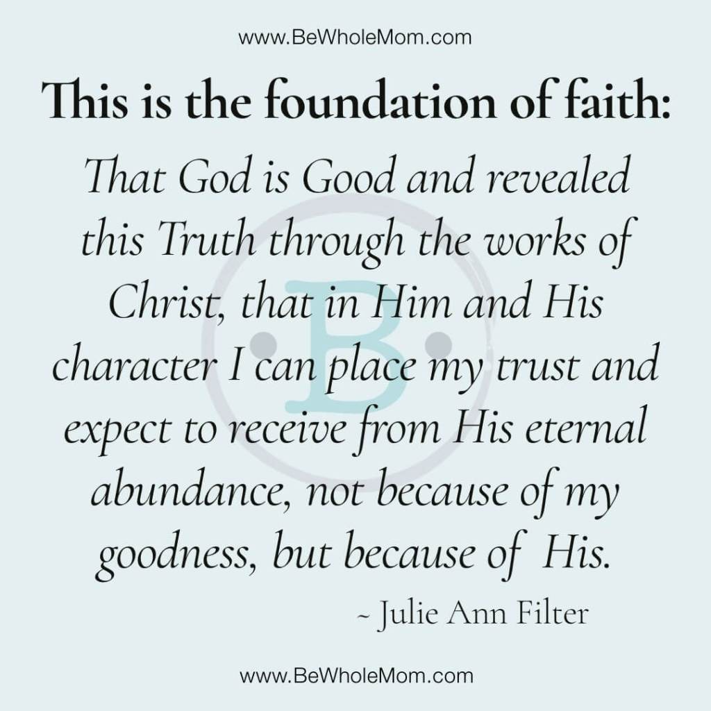 Quote_Foundation of Faith