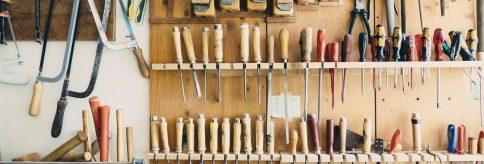 Viele Werkzeuge