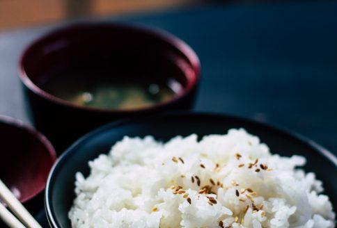 Schale mit Reis
