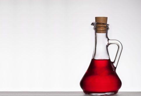 Essig in der Flasche