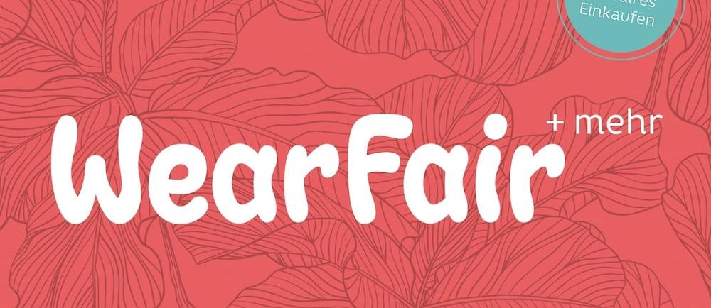 Banner der WearFair+ mehr Messe 2020
