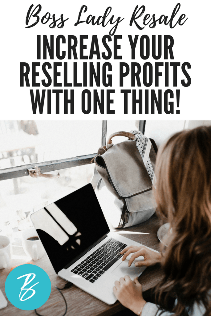 how to make money reselling