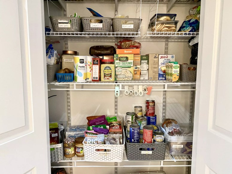 Clutter-Free Tips Pantry