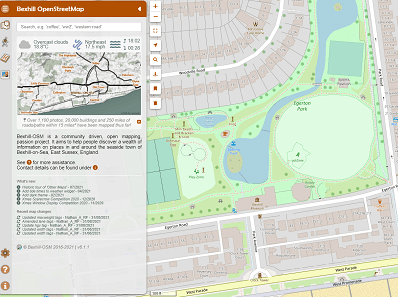 Bexhill Mapping In A Digital Age