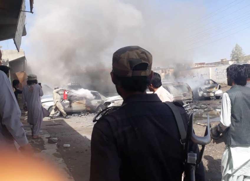 Image result for balochistan punjgoor blast