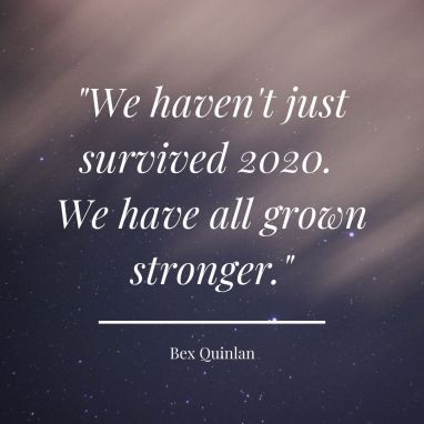 Rebecca Quinlan blog about surviving 2020