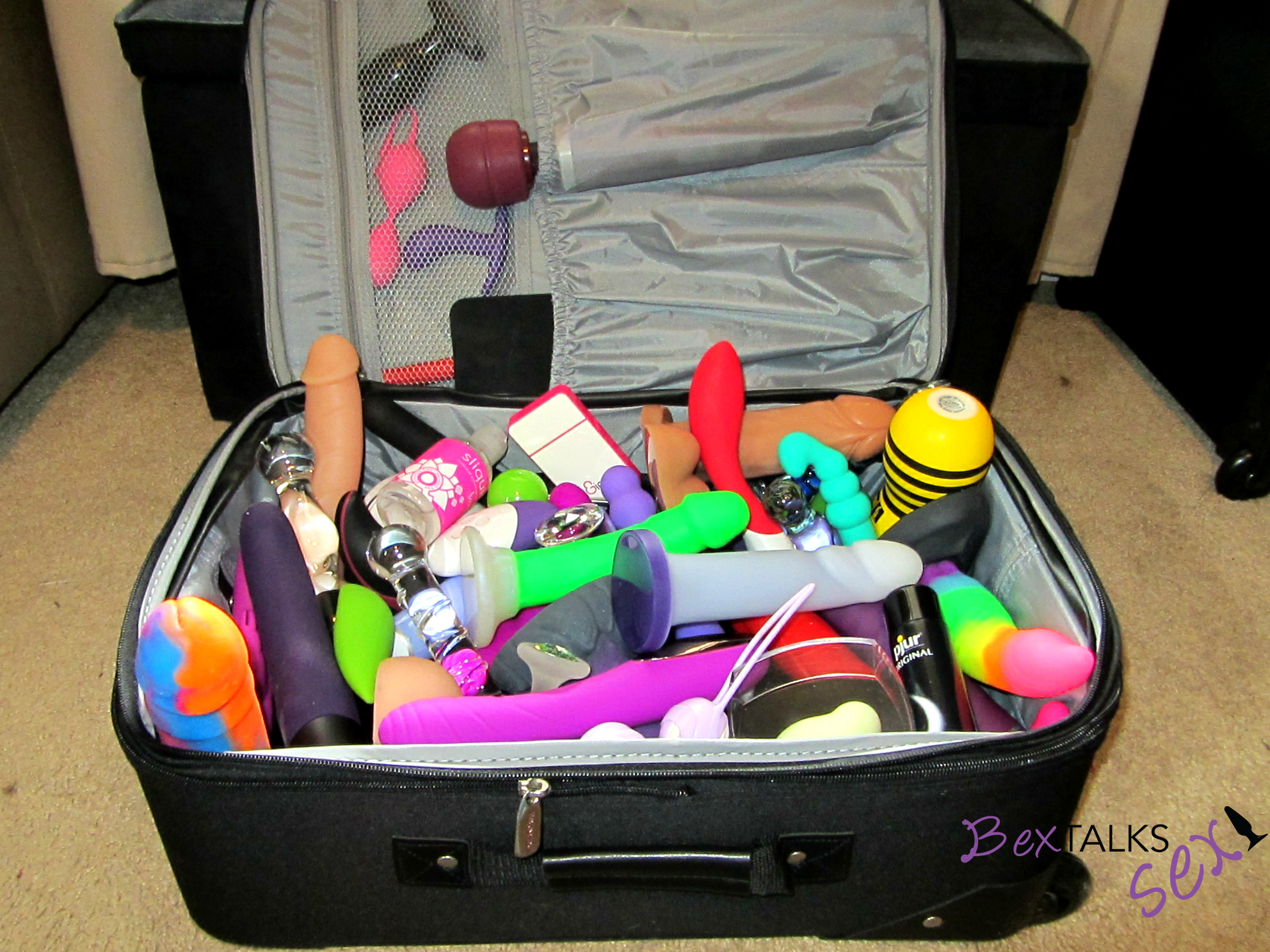 Dildo travel bag remarkable