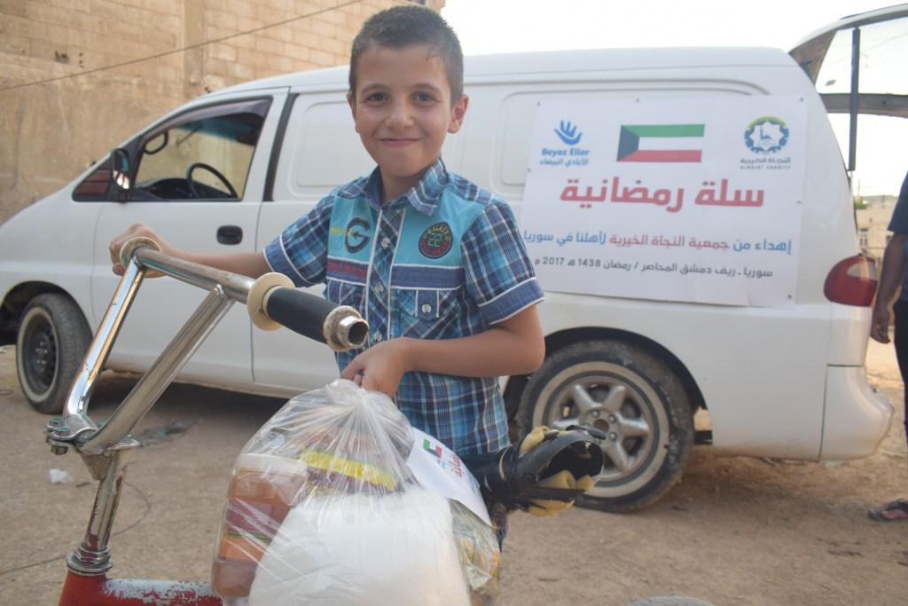 رمضان الخير5 | مشروع توزيع سلة رمضان بدعم من النجاة الخيرية