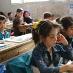 طلاب سوريين