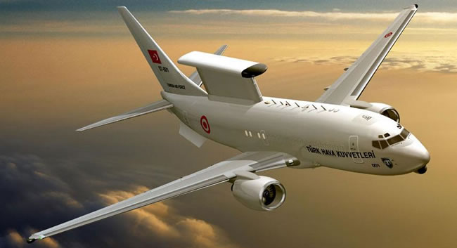 B-737-700 AEW&C MESA