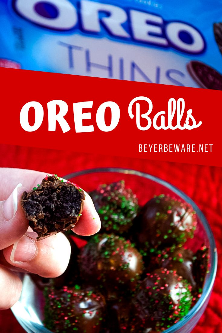 Oreo Truffles are a simple four-ingredient recipe that turns into the most addicting oreo balls sure to have your friends and family think you are a fancy truffle maker.