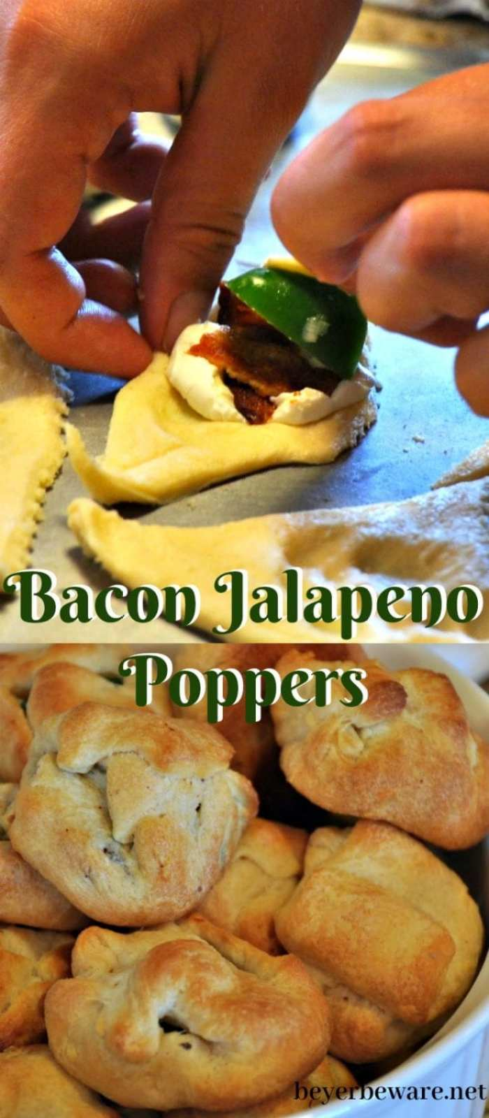 Four ingredients will get you a quick bacon jalapeno poppers recipe leaving everyone fighting over the last one and you wishing you made double.