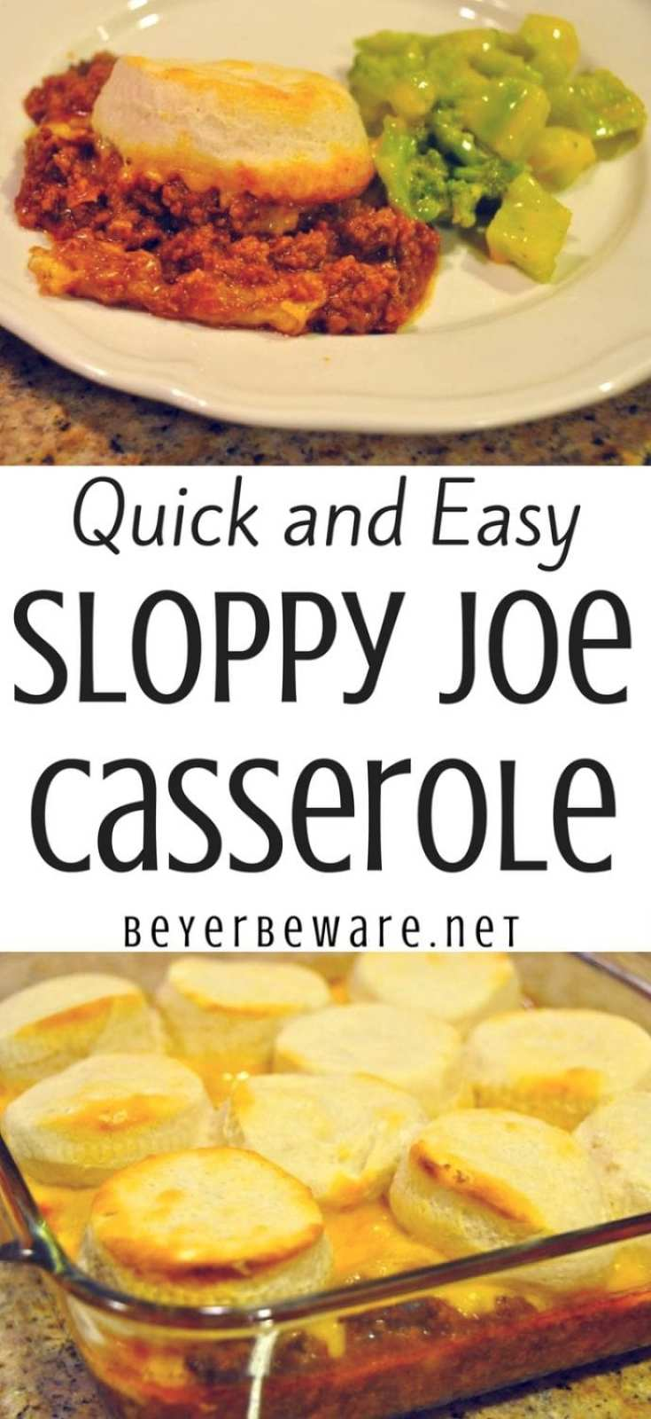 Quick and easy Sloppy Joe Casserole is the perfect weeknight meal recipe when you have leftover sloppy joe in the fridge or freezer it is 3 simple ingredients.