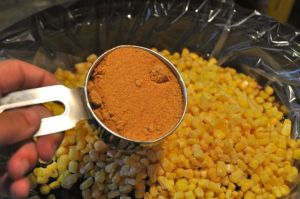 corn and taco seasoning