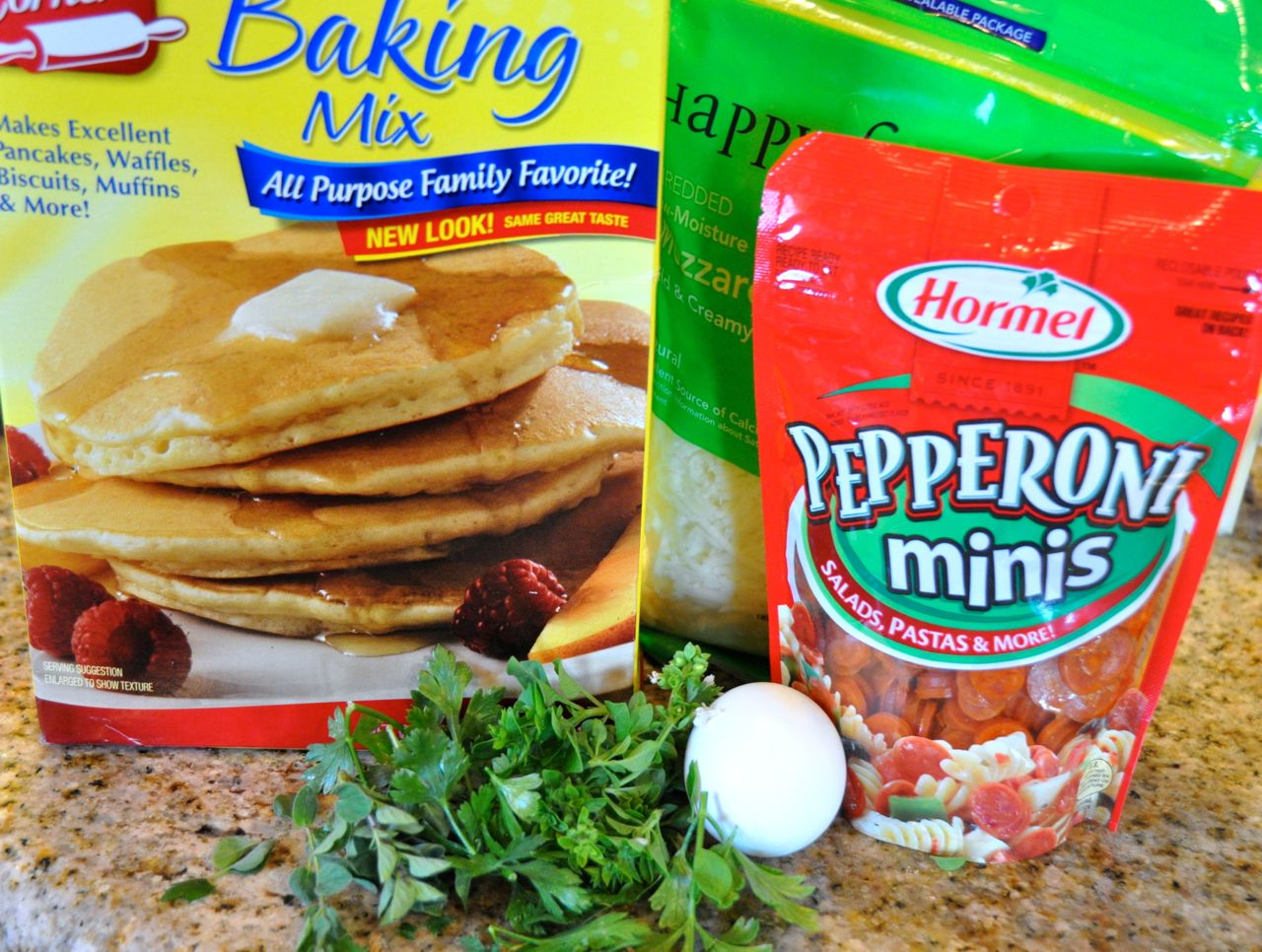 Pantry must haves for pizza muffins