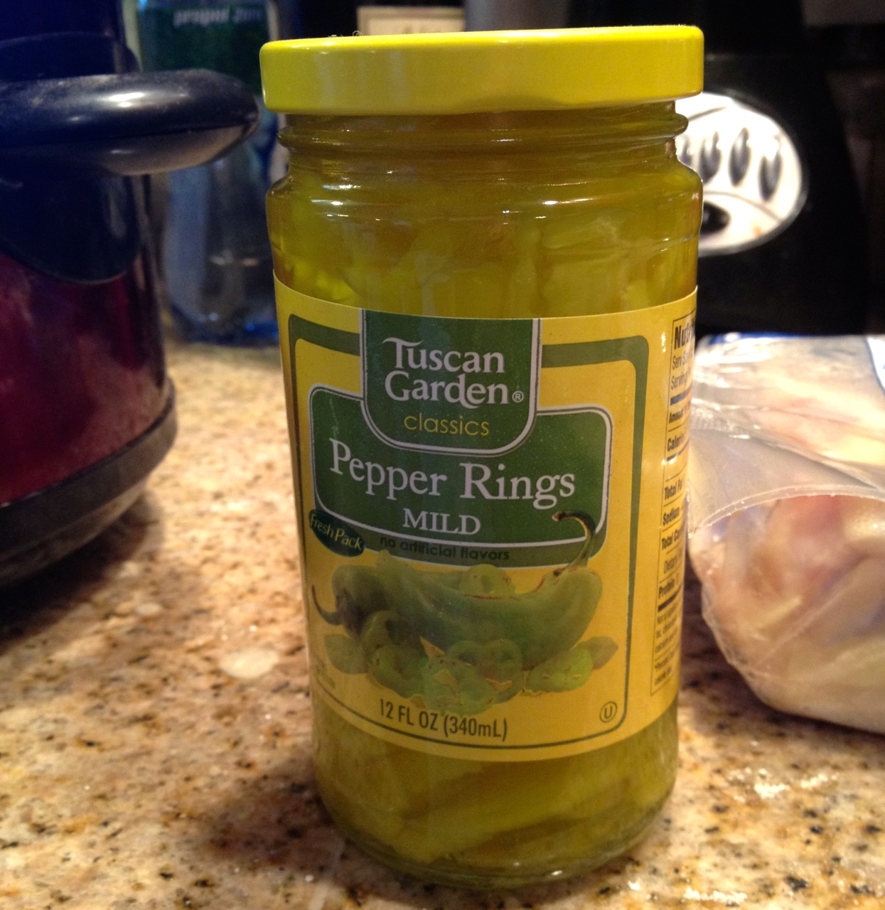 Jar of Pepper Rings